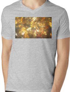 Sun Marble Mens V-Neck T-Shirt