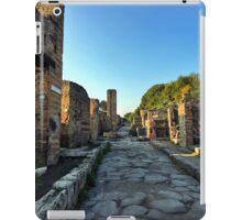 Pompeii Street iPad Case/Skin