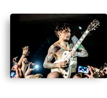 Justin Hawkins - The Darkness Canvas Print