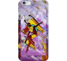 jetgirl rocketship squadron iPhone Case/Skin