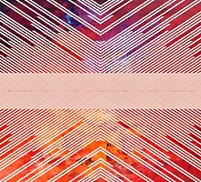 Patterned Stripes by Elaine Bawden