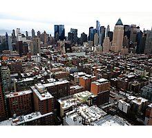 New York City Skyline Photographic Print