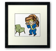 Fallout 4 Perks! - Strong Back Framed Print