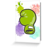 Punch Out! Greeting Card