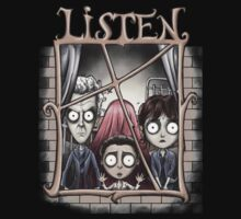 Listen Just Listen by Maryaneli-Store
