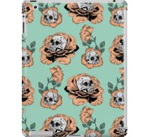 Flower Skull Pattern iPad Case/Skin