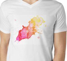 Be Brave Mens V-Neck T-Shirt