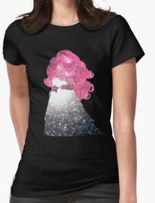 Rose Quartz Womens Fitted T-Shirt