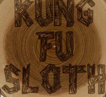 Kung Fu Sloth! Sticker