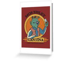 Mos Eisley Cantina Greeting Card