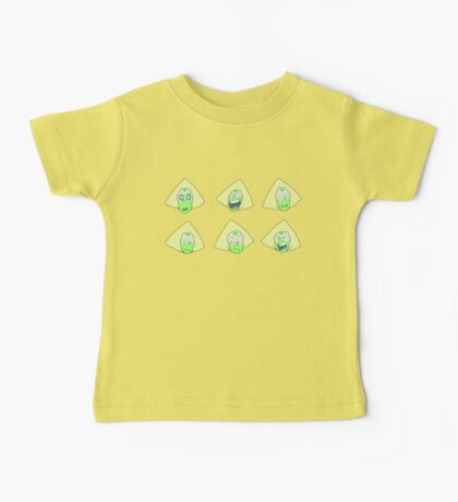 Peridot Faces Baby Tee