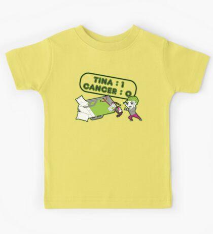 Tina Cancer Score Kids Tee