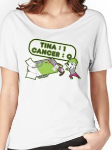Tina Cancer Score Women's Relaxed Fit T-Shirt