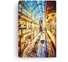 Antique Arcade (ED) Canvas Print