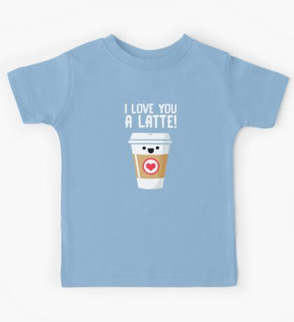 Latte Love Kids Tee