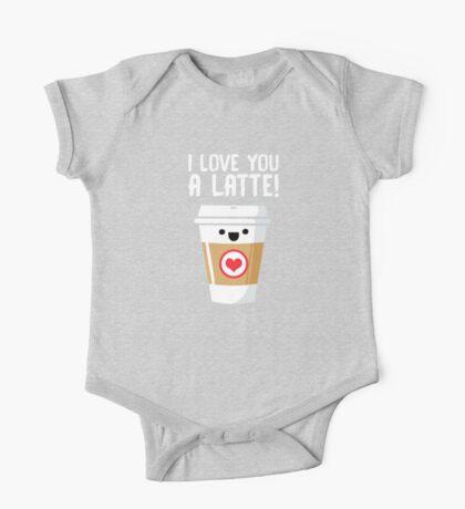 Latte Love One Piece - Short Sleeve