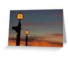 Lampstands Greeting Card