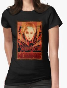 yoshiwara nightclub - metropolis Womens Fitted T-Shirt