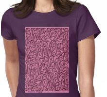 Pink Pattern ( 1878 Views) Womens Fitted T-Shirt