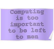 Computer Science Karen Spärck Jones Quote Poster