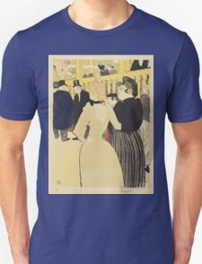 Vintage poster - At the Moulin Rouge T-Shirt