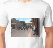 Santa Fe Street Scene Unisex T-Shirt