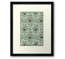 Lace & Pearls 1354 Views Framed Print