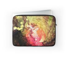 Dawnsing Wood Fox in Watercolor Laptop Sleeve