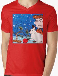 Christmas Card Series 1 - Design 7 Mens V-Neck T-Shirt