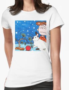 Christmas Card Series 1 - Design 7 Womens Fitted T-Shirt