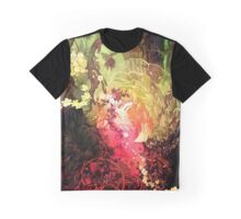 Dawnsing Wood Fox in Watercolor Graphic T-Shirt