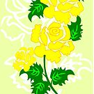 Yellow Roses (3890 Views) by aldona