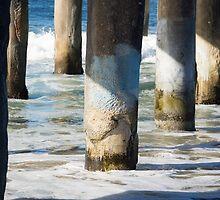 Manhattan Beach Pier by Anne Scantlebury