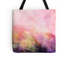 Abstract Landscape—Pink Tote Bag