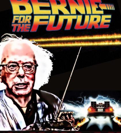 Bernie Sanders X Back to the Future Sticker