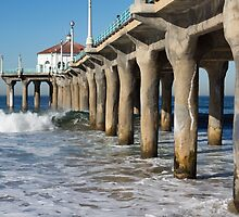 Along the pier. by Anne Scantlebury