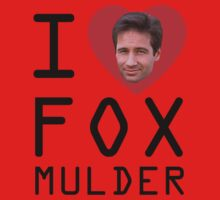 I Heart Fox Mulder Kids Tee