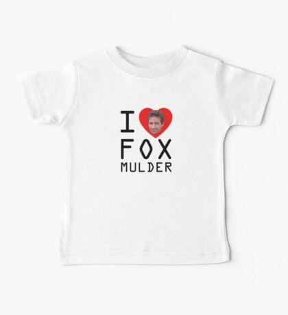 I Heart Fox Mulder Baby Tee