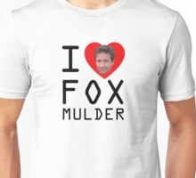 I Heart Fox Mulder Unisex T-Shirt