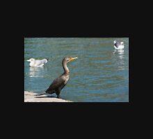 Double crested cormorant. Unisex T-Shirt