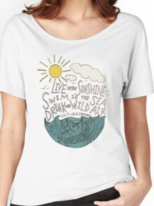 Emerson: Live in the Sunshine Women's Relaxed Fit T-Shirt