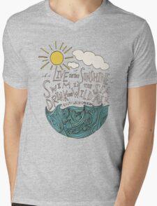 Emerson: Live in the Sunshine Mens V-Neck T-Shirt