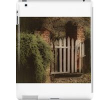 Garden Gate iPad Case/Skin