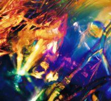 Rainbolic - Experimental Prism Photograph #09 Sticker