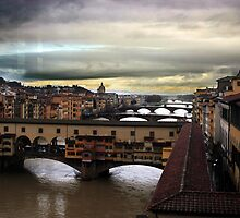 The Ponte Vecchio by STCroiss