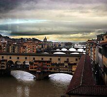 The Ponte Vecchio by STCroiss