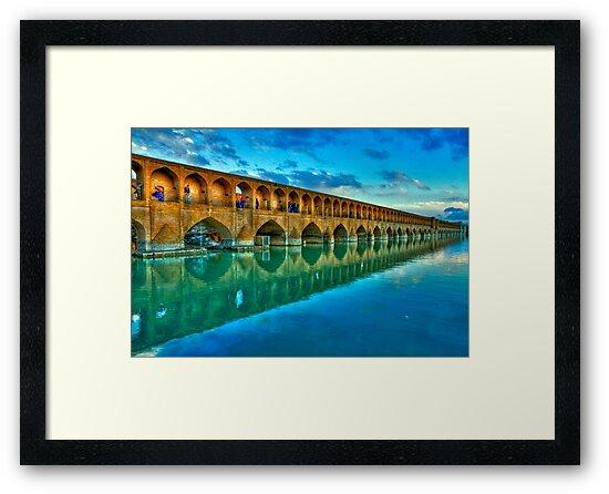 Si-o-Seh Pol (Bridge) - Isfahan - Iran - Daylight by Bryan Freeman