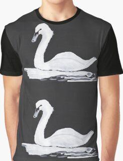 White Swan Graphic T-Shirt