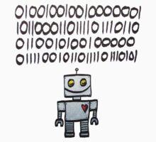 Binary Valentine Baby Tee