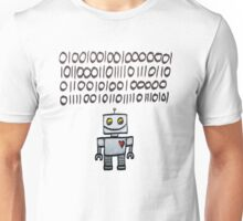 Binary Valentine Unisex T-Shirt